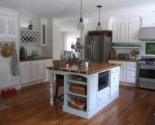 increasing flow kitchen island delaware