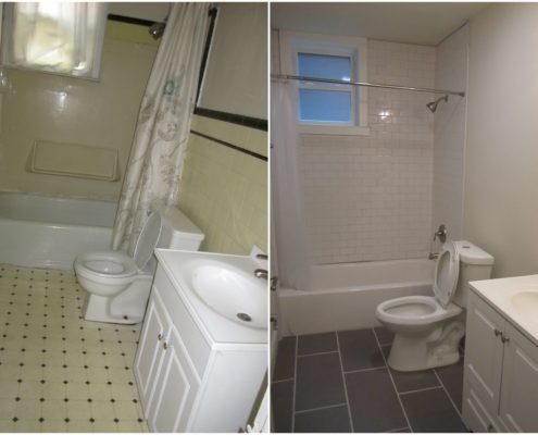 1405 gilpin apt 2 wilmington de 19806 bathroom remodel before and after